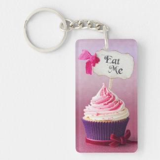 Cupcake - Eat Me Keychain