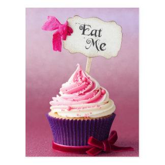 Cupcake - Eat Me Postcard