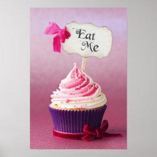 Cupcake - Eat Me Print
