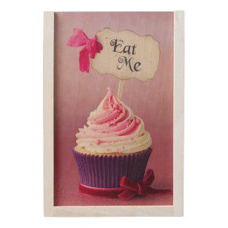 Cupcake - Eat Me Wooden Keepsake Box