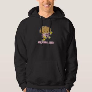 cupcake envy evil muffin man hoodie