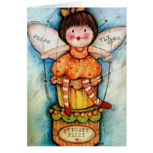 Cupcake Fairy Greeting Cards