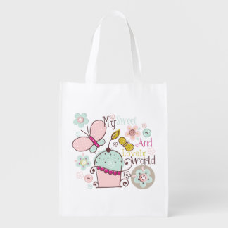 Cupcake Food Desserts Sweet Snack Lovely Market Totes