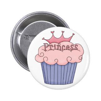 Cupcake For A Princess Button
