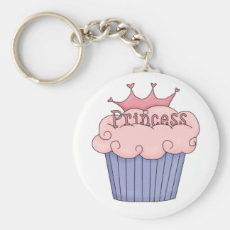 Cupcake For A Princess Keychain