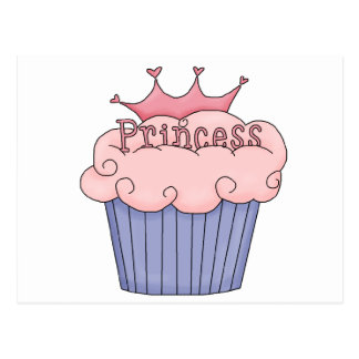 Cupcake For A Princess Postcard