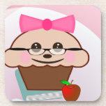 Cupcake For Teacher Drink Coaster