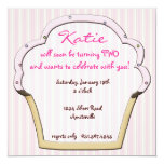 Cupcake Frame Invitation
