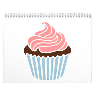 Cupcake frosting calendar