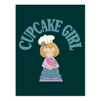 Cupcake Girl Postcard