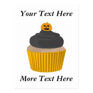 Cupcake-Halloween Postcard