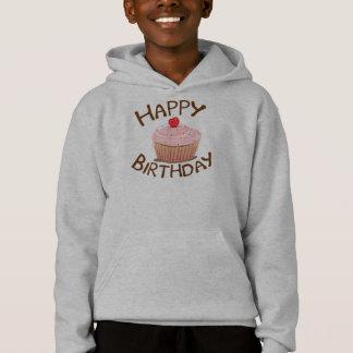 Cupcake Happy Birthday Hoodie