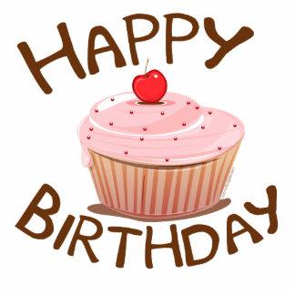 Cupcake Happy Birthday Statuette