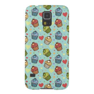 Cupcake Hearts Pattern Galaxy S5 Case