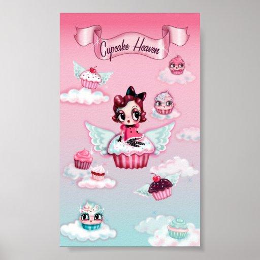 Cupcake Heaven Poster- Vertical Poster