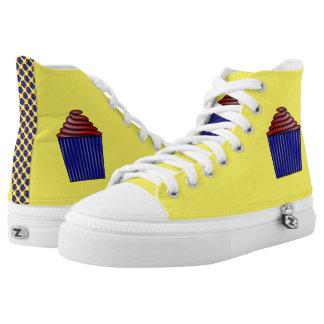 Cupcake High-Top Sneakers