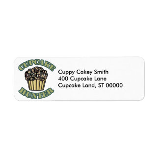 Cupcake Hunter Label