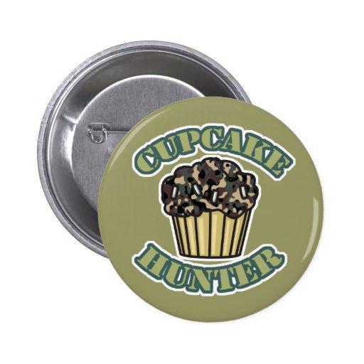 Cupcake Hunter Pinback Button
