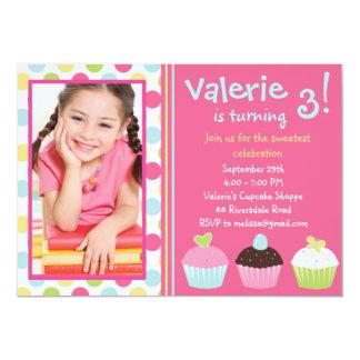 Cupcake Invitation / Cupcake Invitation Photo