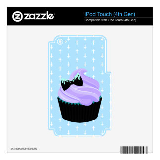 Cupcake iPod Touch 4G Decals