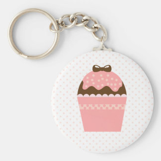 Cupcake Key Chain
