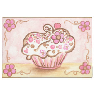 Cupcake Kitchen Bakery Doormat Rug Gift