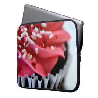 Cupcake Laptop or Netbook Sleeve Laptop Sleeve