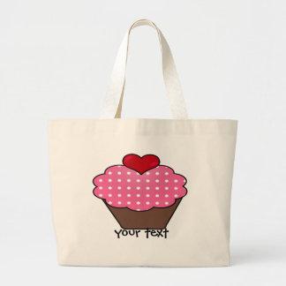 cupcake large tote bag