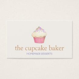 Cupcake Business Cards Cupcake Business Card Templates - Cupcake business card template