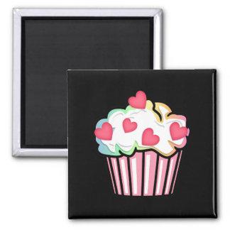 Cupcake Love 2 Inch Square Magnet