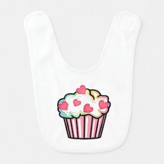 Cupcake Love Baby Bib