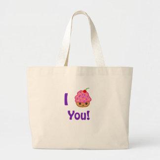 Cupcake Love Canvas Bags