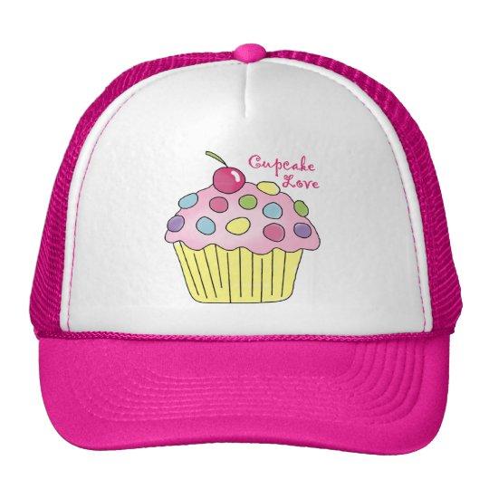 Cupcake Love Cap Trucker Hat