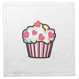 Cupcake Love Cloth Napkin