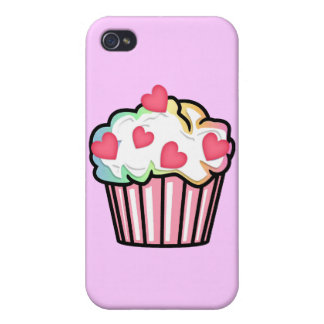 Cupcake Love Cover For iPhone 4