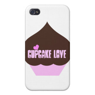 Cupcake Love Covers For iPhone 4