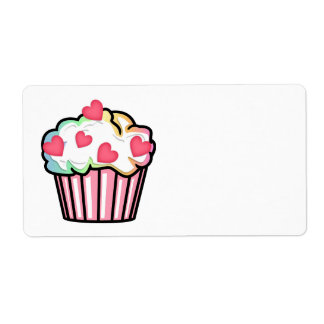 Cupcake Love Shipping Label