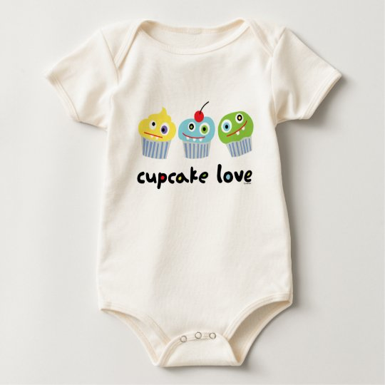 Cupcake Love ll Baby Bodysuit