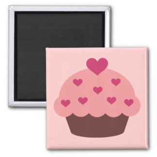 Cupcake Love Magnet Refrigerator Magnets
