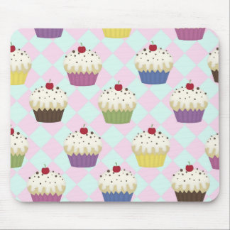 cupcake love mouse pad