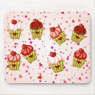 Cupcake Love Mouse Pad