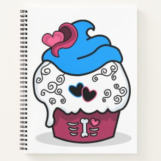 Cupcake Love Notebook