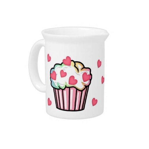 Cupcake Love Pitcher