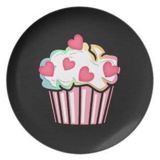 Cupcake Love Party Plates