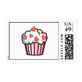 Cupcake Love Postage Stamps