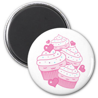 cupcake love refrigerator magnets