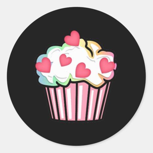 Cupcake Love Stickers