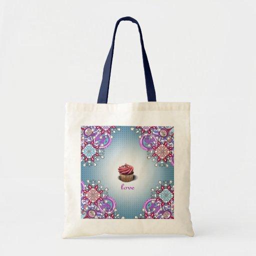 Cupcake Love Tote Bag