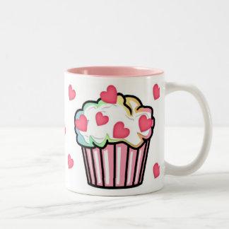 Cupcake Love Two-Tone Coffee Mug