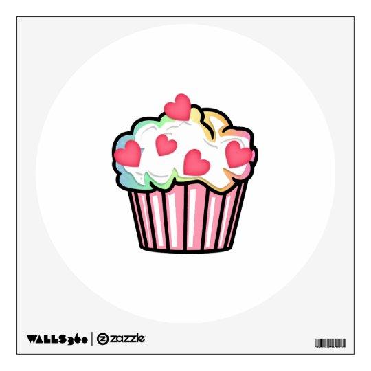 Cupcake Love Wall Sticker